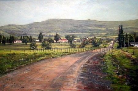 """Road into Town"""
