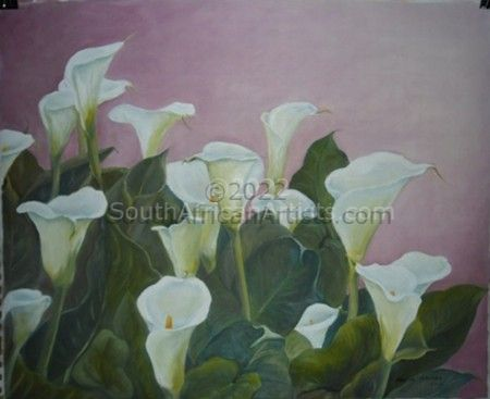 """Arums in the Pink"""