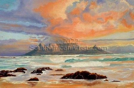 """Table Bay Sunset"""