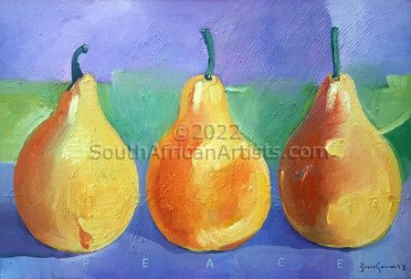"""Peaceful Pears"""
