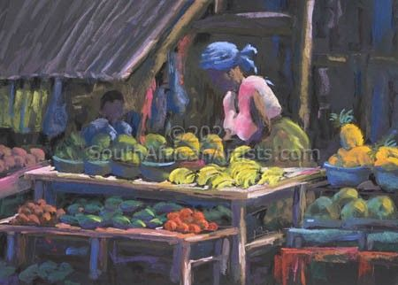 """The Vegetable Stall"""