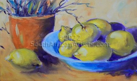 """Still Life with Lemons"""