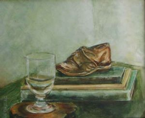 """Still Life with Books"""