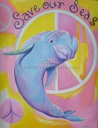 """Save Our Seas - Dolphin"""