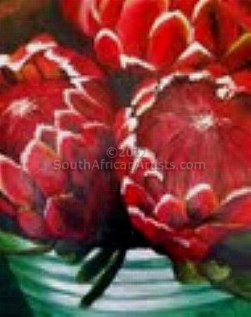 """Flowers: Proteas"""