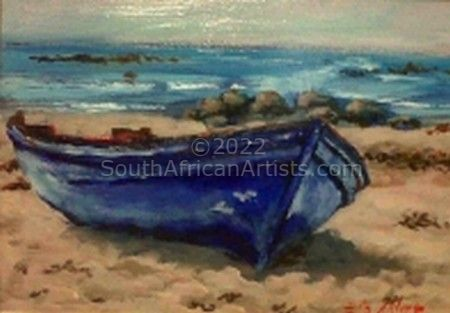 """Blue boat - Midwest"""
