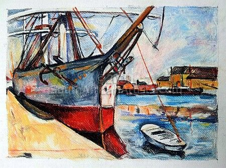 """Le Havre - George Braque"""