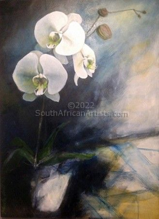 """White Orchids"""