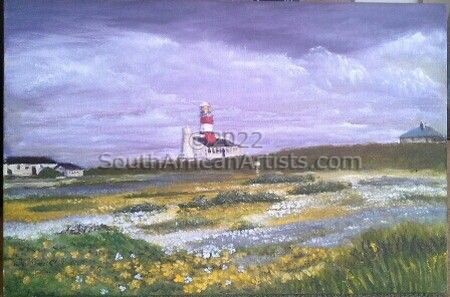 """Agulhas Lighthouse No 3"""