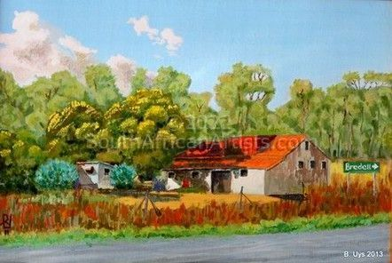 """Old Grain Mill Kaalfontein"""