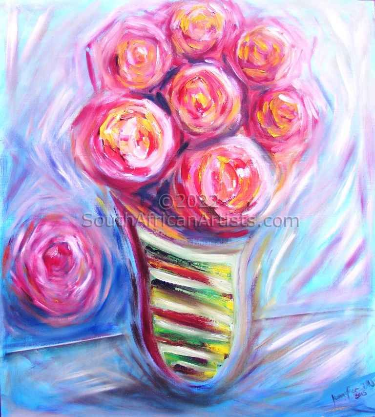 """Abstract Roses"""