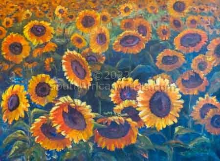 """Sunflowers in the Sun"""