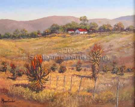 """Landscape With Aloes"""
