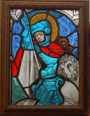 """Stained Glass Knight"""