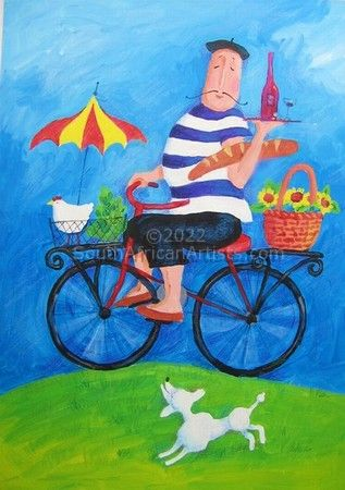 """Chef on a Bicycle"""