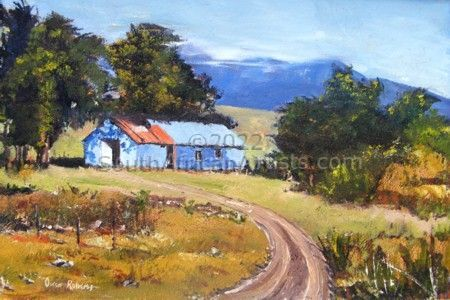 """Road to the Blue Cottage"""
