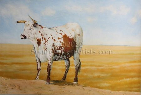 """Lone Cow"""