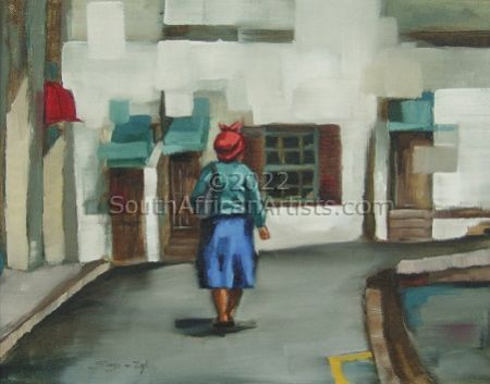 """South African Street Scene"""
