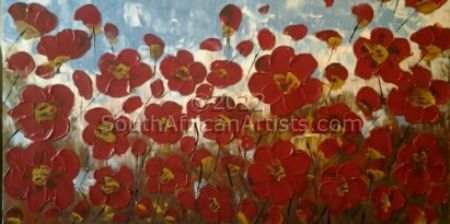"""Poppies in the Field"""
