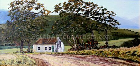 """Landscape With Old Farm House"""