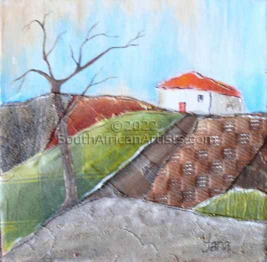 """Landscape with House 2"""