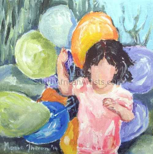 """Girl With Balloons"""