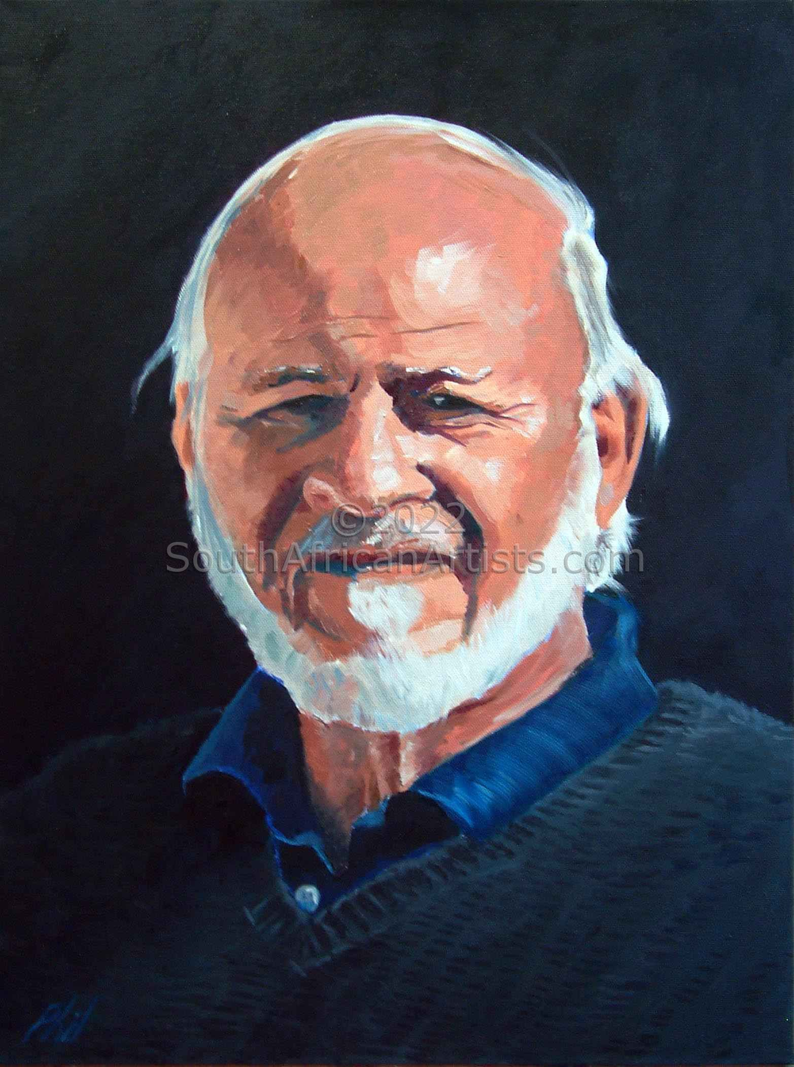 """Portrait - Keith Crossley"""