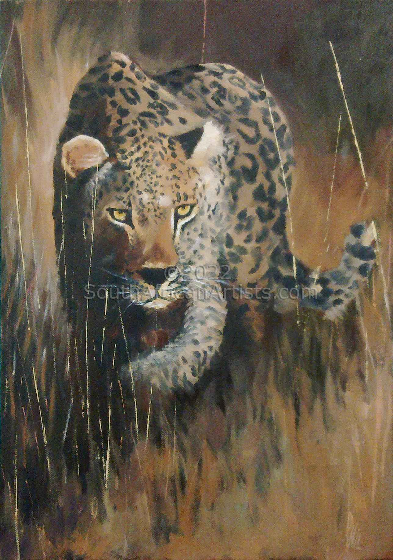 """Leopard in the Grass"""