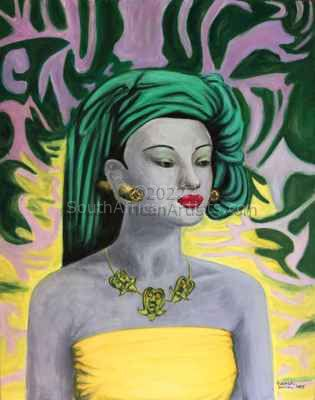 """Balinese Girl - Tribute to Tretchikoff"""