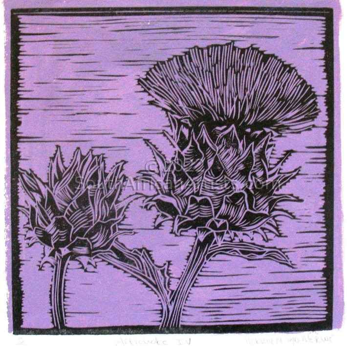 """Artichoke III Purple"""