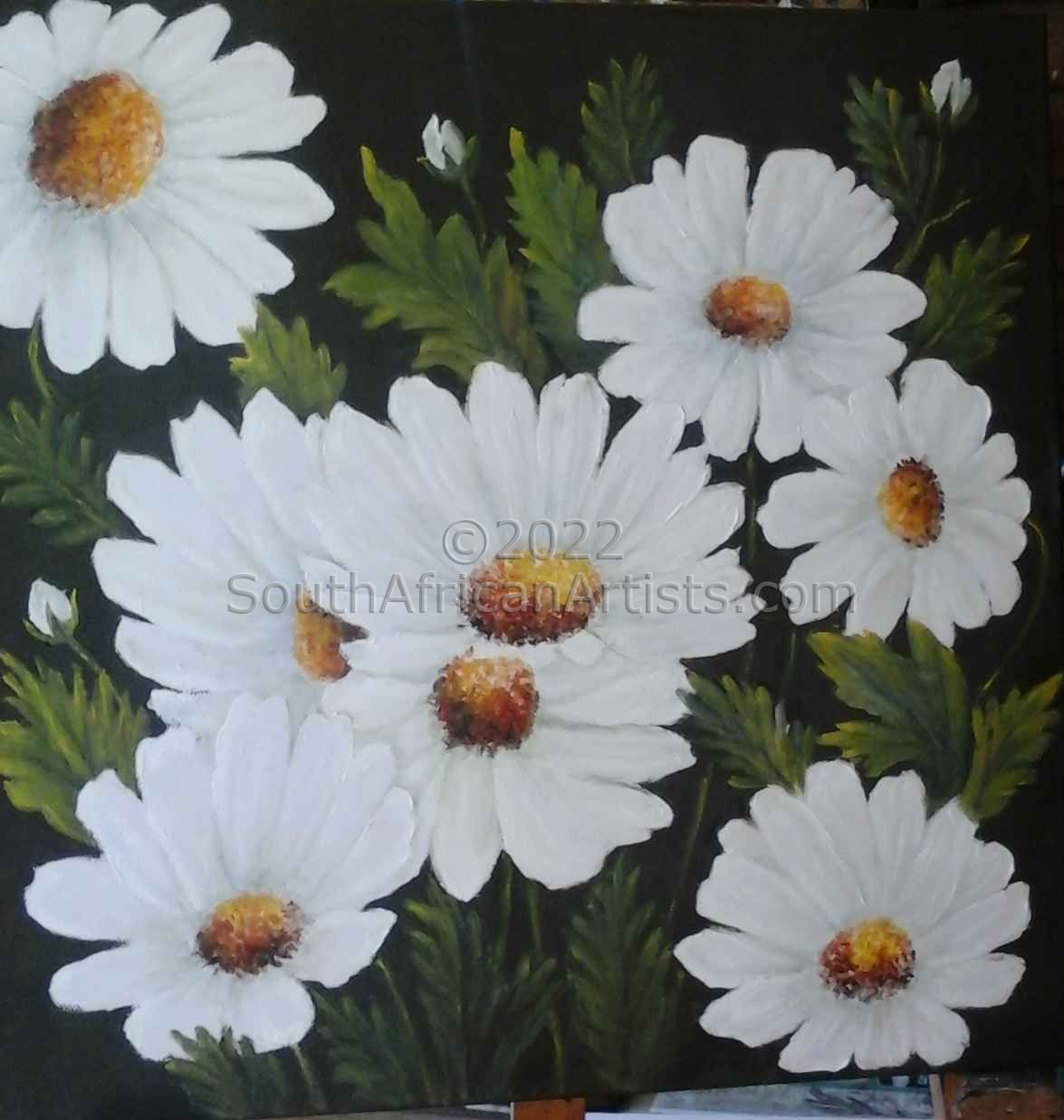 """White Flowers"""