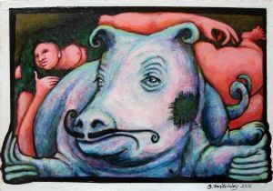 """Pig-Seal and the Nude"""