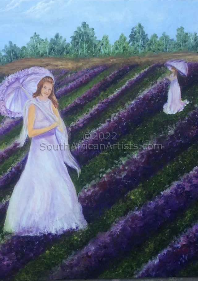"""Ladies in Lavender """