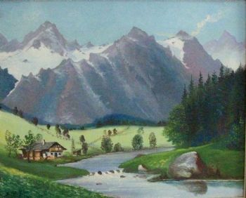 """The Mountain and River"""
