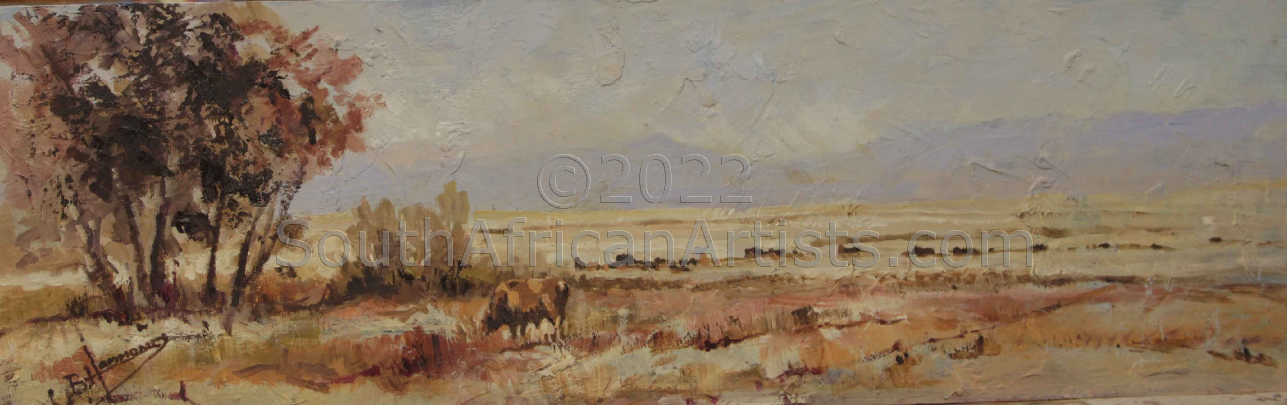 """Cattle in the Veld"""