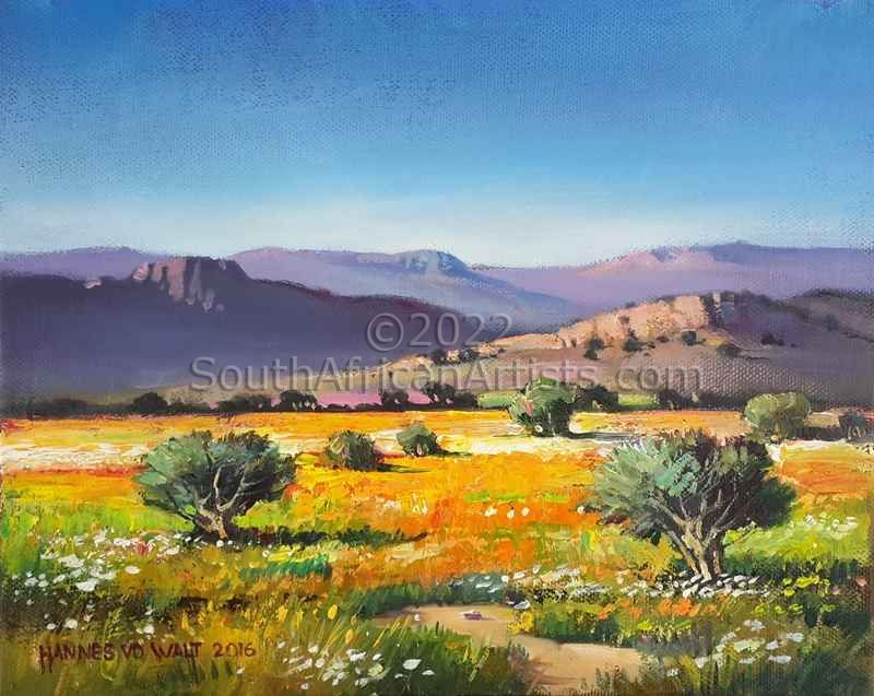 """Namaqua Landscape with Clear Sky"""