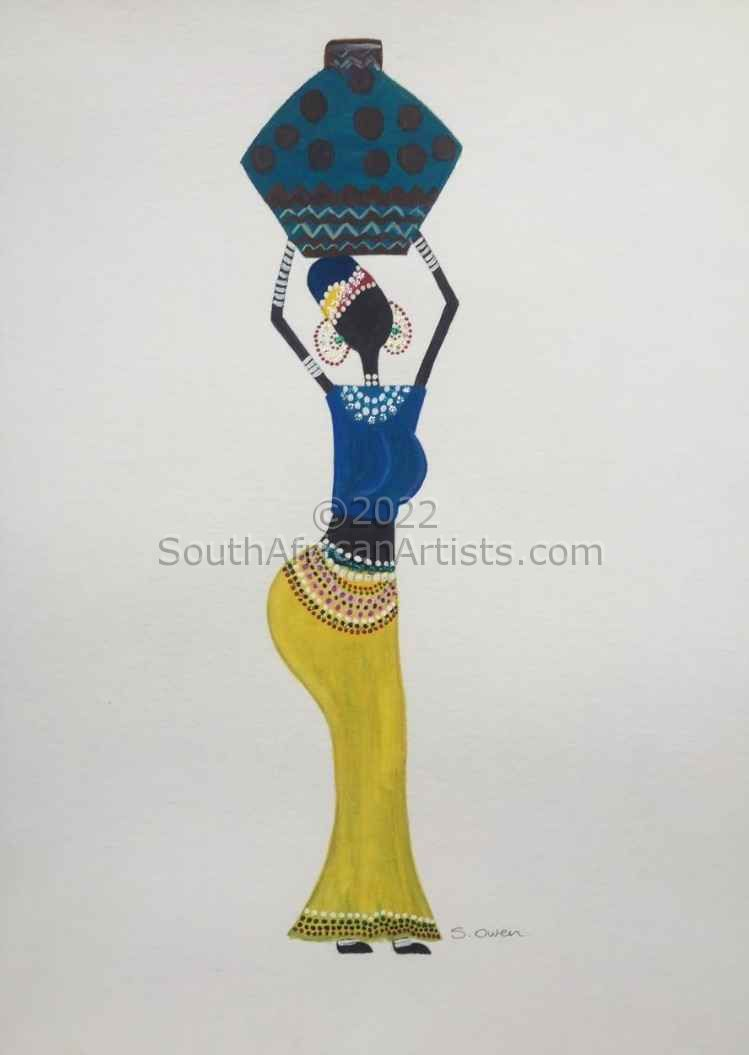 """African Woman 2"""