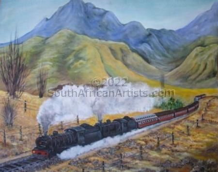 """Steaming Along"""