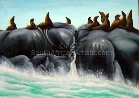 """Seal Island, Hout Bay"""