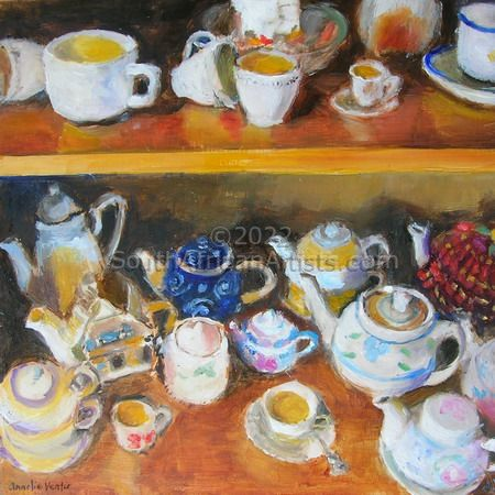 """Magdaleen's Teapot Collection 5"""