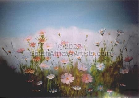 """Cosmos in the Field (Summertime)"""