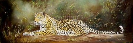 """Leopard in the Bushveld"""
