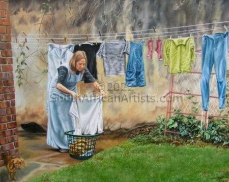 """Doing the laundry"""