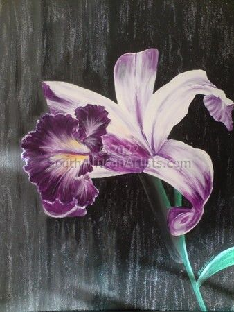 """Shimmering Orchid"""