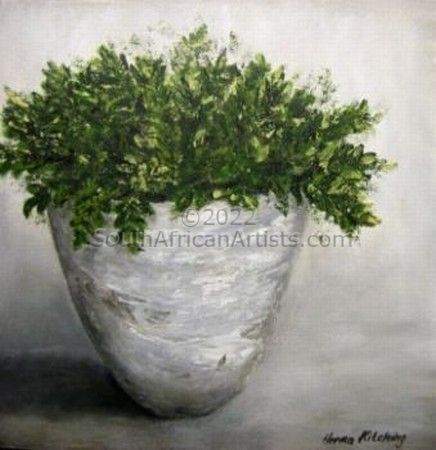 """Pot with Greenery 1 STOLEN"""