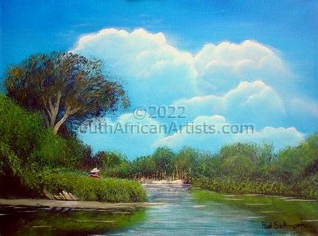 """Secluded River Bend"""