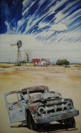 """Rusted in Karoo 1"""