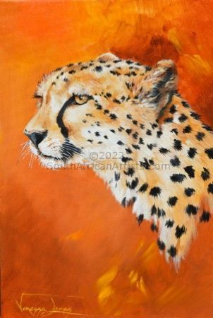 """Cheetah Portrait"""