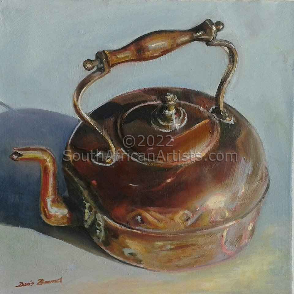 """Still Life With Copper Pot"""