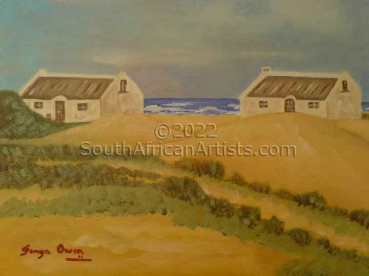 """Fishermen's Cottages in Paternoster"""